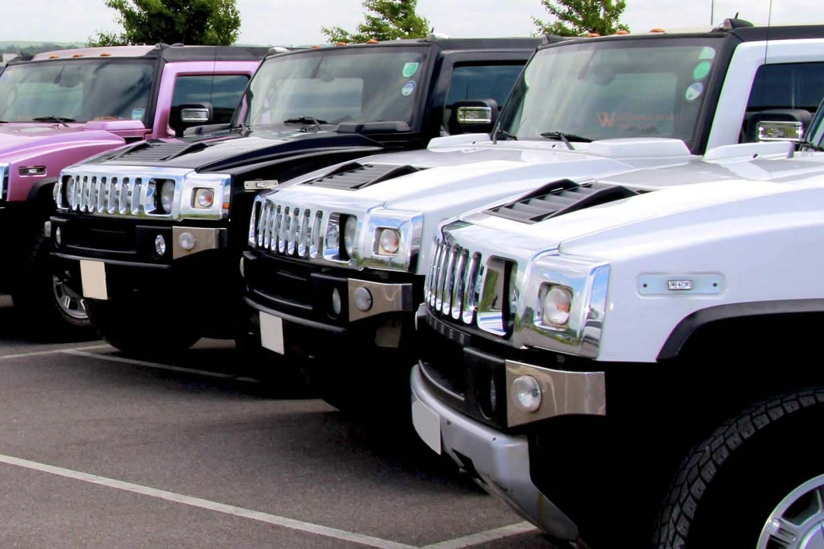 Compare hire prices on Hummer Limos
